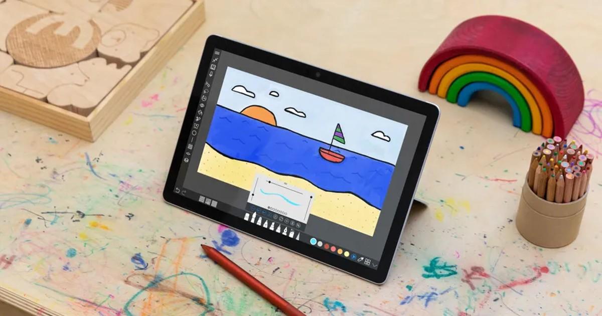 Surface Go 3 Header