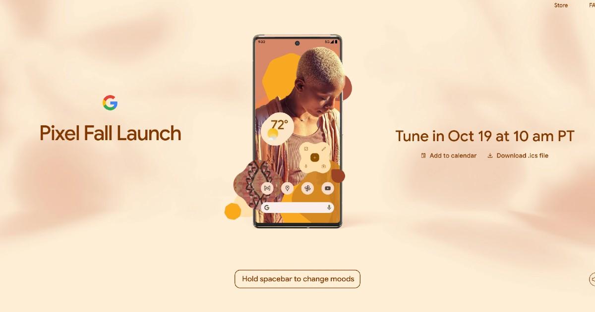 Pixel Fall Launch Event Header
