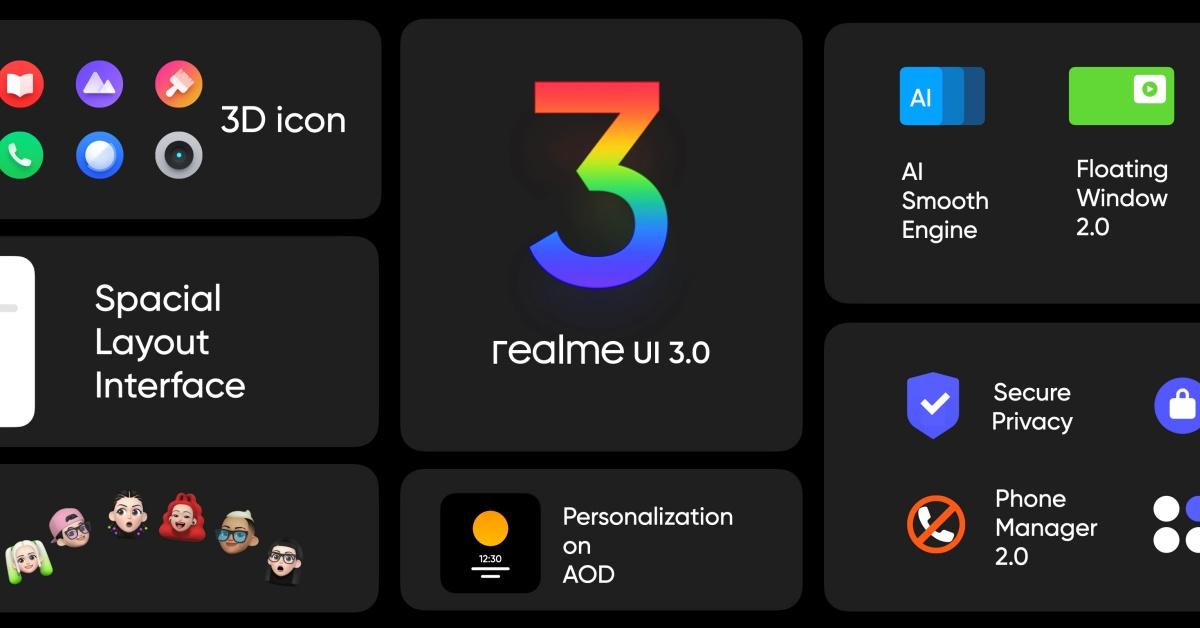 realme UI 3